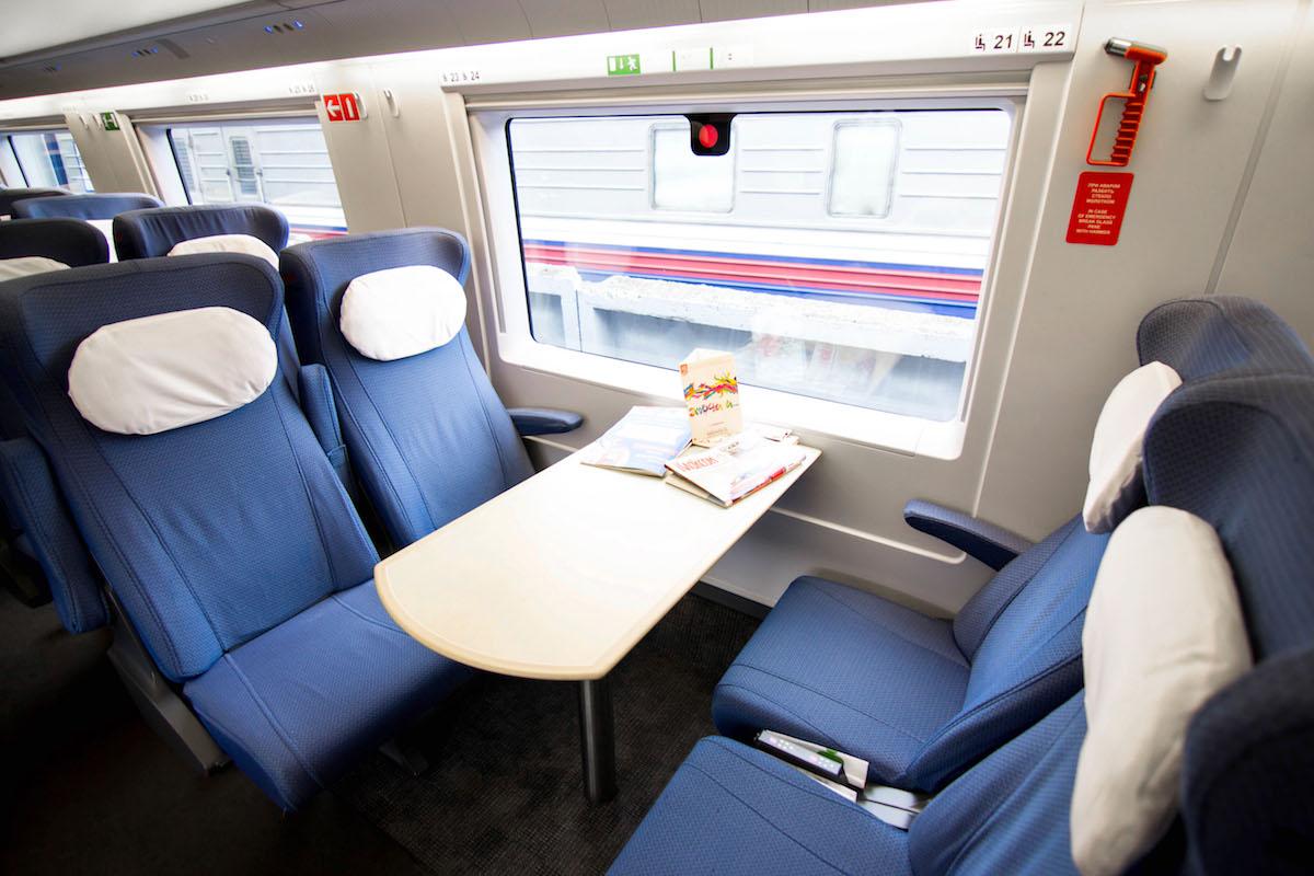 расположение мест в поезде плацкарт схема
